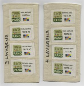 Testes de Lavagem em Etiquetas de Tecido Personalizadas em Algodão